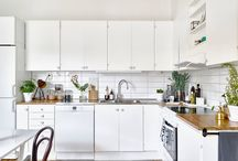 amazing ideas for your kitchen / warm,cosy and simple.