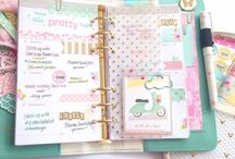 Webster Pages planner / Ideas para mi agenda