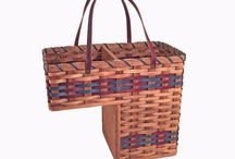 Stair Baskets / If you're looking for a step basket organizer, you've come to the right place. Our stair baskets are available for normal or steep staircases and are sure to compliment any rustic or primitive decor.