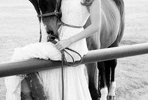 girl horse