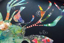 DAKRI Sinclair ART / Upcycled art. Repurposed art