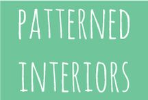 pattern⎢interiors / beautiful patterns in Interiors and home decor