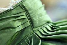 regency dress details