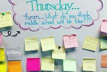 Thursday Whiteboard Messages