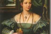 Renaissance Portraits Ladies / by Wesley Joines