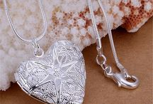 FREE Silver-Plated Cute Heart Necklace