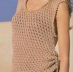 pletení na léto