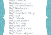 30-day projects / by Evangeline Thompson