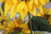 Bloemen schilderen
