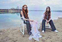 "TAMARA TOTH S/S16 ""REINCARNATION"" Campaign / Photo: Liziczai Reka Photography Mua: Rozita Tóth Hair: Krisztián Hevesi Models: Vivi @ Highlight Models & Anna"