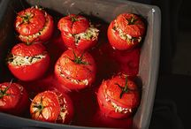 Garden veges - tomatoes