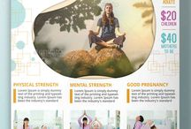 Yoga Flyer Templates / Thisis a place where you can see professional Yoga Flyers to advertise your business
