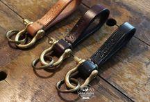 Handmade key rings