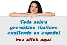 GramaticaItaliana.com / Todo sobre gramática italiana explicado en español