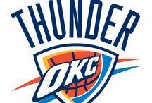 Oklahoma City Thunder / by Freddie Ramirez