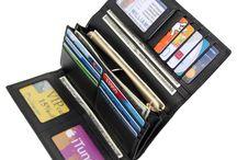 Trifold Genuine Leather Wallet RFID blocking wallet