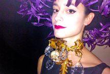 """Black Death"" jewellery Collection by Pericles Kondylatos + Vassilis Zoulias Haute couture  / ""Black Death"" jewellery Collection by Pericles Kondylatos + Vassilis Zoulias Haute couture @ ""La passion"" Η όπερα συναντάει τη μόδα στην παράσταση με την οποία η ελληνική έκδοση του Marie Claire γιορτάζει τα 25 χρόνια της. Info: Η παράσταση La passione, μια συμπαραγωγή της Εθνικής Λυρικής Σκηνής και του περιοδικού Marie Claire του Δημοσιογραφικού Οργανισμού Λαμπράκη με αφορμή την επέτειο των 25 χρόνων της ελληνικής έκδοσης,"