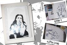 Esse Due stencil / stencil by essedue