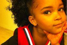 Hairstyles for girls / by Krystel Orengo-Stone