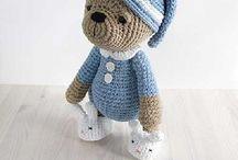 Peluches a crochett
