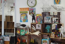 Studio / Various photos of  studios or  photos taken in my studio.