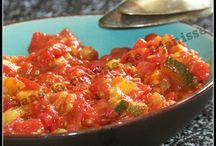 Mes recettes - Légumes cuisinés