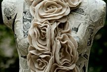 Felt flowers / by Alex Van Boerum