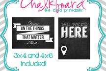 Crafty- Project Life Printables