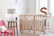 Baby Room Inspiration / Baby nursery ideas to buy, copy, or recreate.  / by Michelle Horton