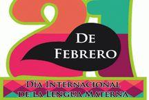 Día internacional de la lengua materna. / Imágenes relacionadas con el día internacional de la lengua materna.