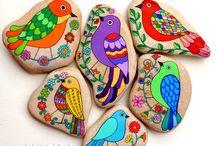 πετρες ζωγραφιστές