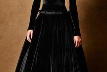 black bridal