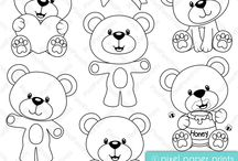 Craft and Design: Bears and Bunnies / by Carmen Martinez