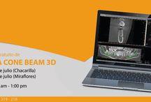 Programación curso de Tomografía Cone Beam 3D / Ya salió la nueva programación del mes de julio ¡Te esperamos!