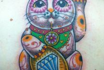 Cat Tattoos / by Julie Bell