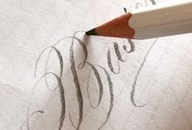 Pencil Calligraphy
