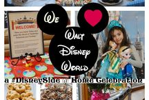 We Love Walt Disney World Party / Our 2015 #DisneySide @ Home Celebration showed our family and friends just how much we love Walt Disney World. #sponsored