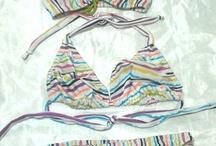 Trajes de baño hechos por mi. / by Cursos Costura Hmlo
