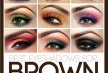 Different Colors to use for Brown Eyes...
