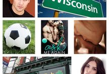 Ask Me Again / Inspiration and fan-made graphics for my small town contemporary romance, Ask Me Again, which is loosely based on the real life love story of my youngest sister.