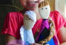 Cool doll making crafts / by Katie Woodby