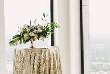 Rustic Glam Wedding Ideas / Rustic glam wedding inspiration and ideas mixing rustic and glitzy details.  / by Elli