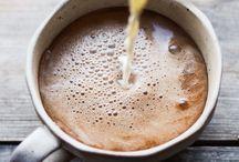 Coffee, tea and mugs