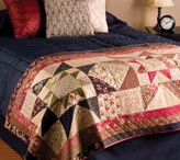 Quilted Bed runners And Pillows