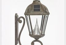 Solar Carriage Lanterns / Classic solar #carriage lanterns add such a welcoming style to your home. You can use them for #path lights, #wall lights, #pole lights and #deck post #solar cap lights.
