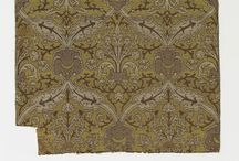 17-19th century extant textiles