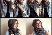 hijab dengan kacamata