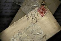 old envelope art