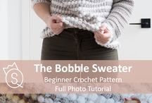 The Queen Stitch Patterns / Collection of crochet and knit patterns by the queen stitch. Beginner, easy, and intermediate patterns, ranging from winter accessories to sweaters to summer bralettes and dresses.