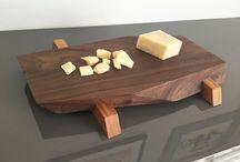 tablas de madera cocina papá